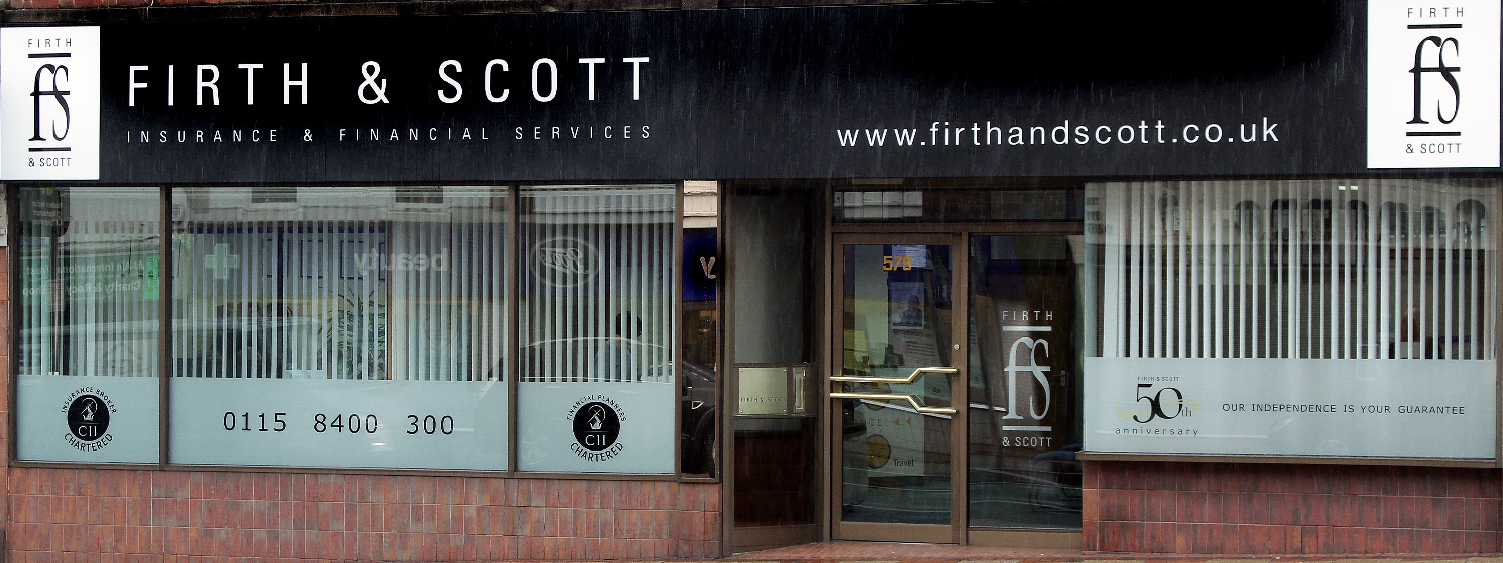 Firth & Scott Insurance Brokers have NOT sold the business and are going from strength to strength!