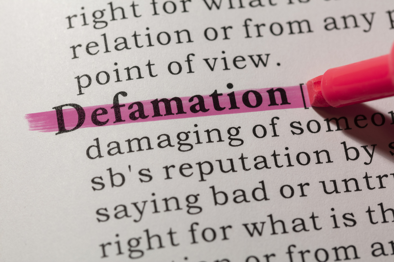 PI Insurance and Defamation